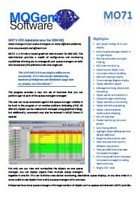 MQGem MO71   IBM MQ Graphical Administrator Tool